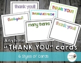 Anytime Thank You Cards