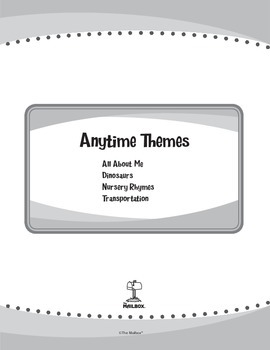 Anytime Themes eUnits - Set of 4