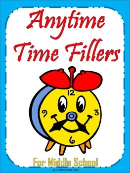 Anytime Time Fillers