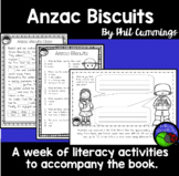 Anzac Biscuits  ~ A week of literacy activities