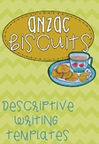 Anzac Biscuits Descriptive Writing Freebie