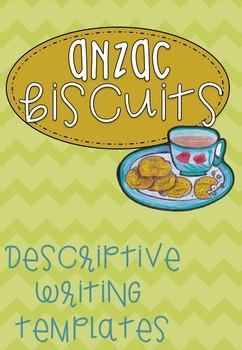 Anzac Biscuits Descriptive Writing Freebie