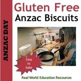 Anzac Biscuits Gluten Free