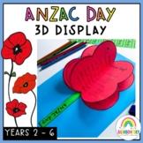 Anzac Day 3D Display{Australian Celebrations & Commemorati