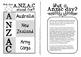 Anzac Day {An activity booklet for Kiwi & Aussie Kids}