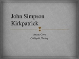 Anzac Day Bigraphy John Simpson Kirkpatrick  - Simpson and His Donkey