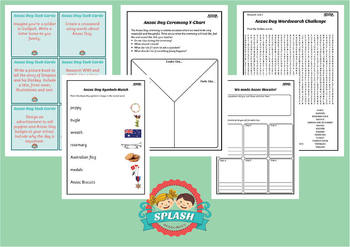anzac day display activities and worksheets for reading writing achhk063. Black Bedroom Furniture Sets. Home Design Ideas