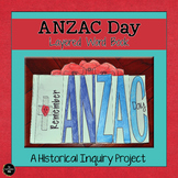 Anzac Day Layered Word Book - HASS Inquiry Project