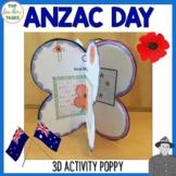 Anzac Day Poppy Activity Australia and New Zealand