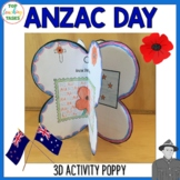 Anzac Day Poppy Activity Australia and New Zealand