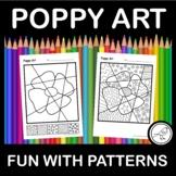 Anzac Day – Poppy Pop Art