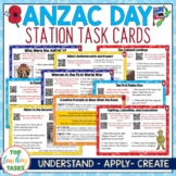 Anzac Day Reading Stations