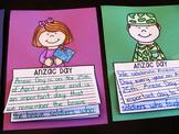 Anzac Day Writing Craft Activities