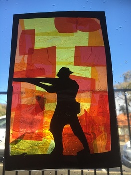 Anzac, Memorial & Remembrance Day Stain Glass Windows