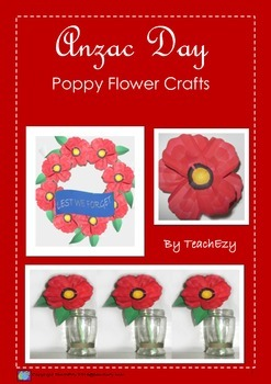 Anzac Poppy Craft