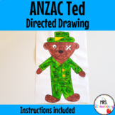 Anzac Ted Directed Drawing