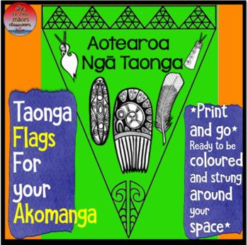 Aotearoa: Ngā Taonga-Decorative Flags