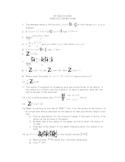 AP Calculus AB Midterm Review