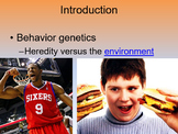 Ap Psychology Myers Unit 3c Genetics, Evolutionary Psy, and Behavior