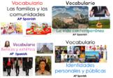 Ap Spanish Language and Culture Vocabulary Bundle Based AP