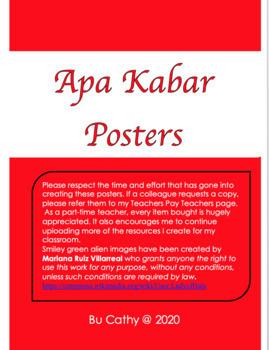 Apa Kabar Response Posters