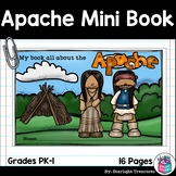 Apache Tribe Mini Book for Early Readers - Native American Activities