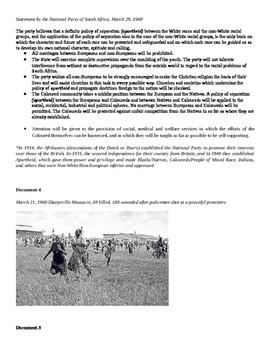 Apartheid DBQ
