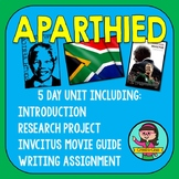 Middle School Apartheid Unit & Project