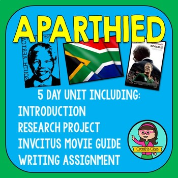 Secondary Apartheid Unit & Project