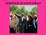 Apartheid in Africa Power Point Presentation