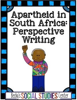 Apartheid in South Africa (Nelson Mandela) - Writing Proje
