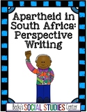 Apartheid in South Africa (Nelson Mandela) - Writing Project (RAFT)