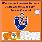 Apartheid in South Africa - why did the National Party win the 1948 election?
