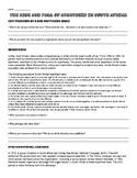 Apartheid in South Africa worksheet