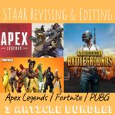 Apex Legends | Fornite | PUBG (3 article bundle!) | STAAR Revising & Editing