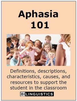 Aphasia 101: Factsheet