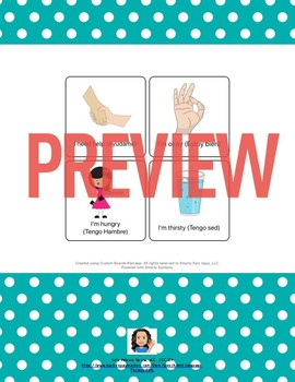 Aphasia: Bilingual AAC Communication Ring