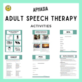 Activities for Treating Aphasia in Adult Speech Therapy!