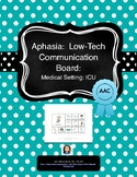 Aphasia: Low-Tech AAC Communication Board: ICU