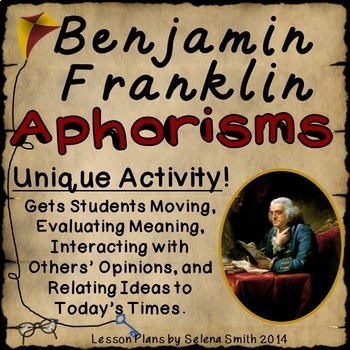 Aphorisms by Ben Franklin