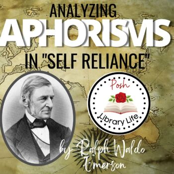 Aphorisms in Self Reliance Ralph Waldo Emerson