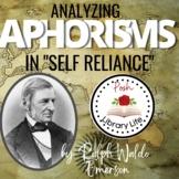 Aphorisms in Self Reliance Ralph Waldo Emerson
