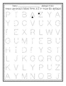 Alphabet Mazes for Alphabet Order and Beginning Sound Practicice