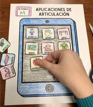 Aplicaciones  De Articulación: A Speech Craft Activity (Español)