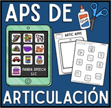 Aplicaciones  De Articulación: A Speech Craft Activity (Español)