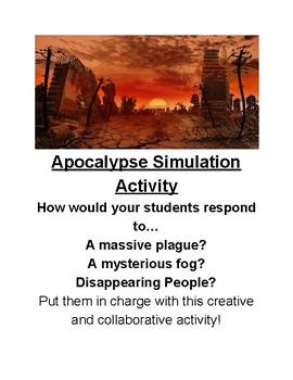 Apocalypse Management/Public Speaking Activity