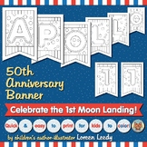 Apollo 11 Banner for Coloring