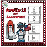 Apollo 11 Moon Landing Anniversary Activities (Reader/Cut