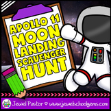Apollo 11 Moon Landing Anniversary Activities (Scavenger Hunt)