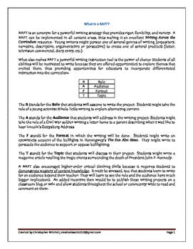 Apollo 11 Moon Landing Writing Project